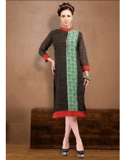 Ethnic Wear Readymade Cotton Kurti - Darpan2052